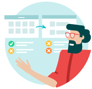 Our UX researchers and product designers optimise your user experience.